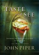 Taste and See eBook