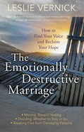 The Emotionally Destructive Marriage eBook