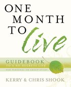 One Month to Live Guidebook eBook