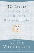 30 Days to Experiencing Spiritual Breakthroughs eBook