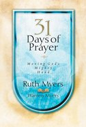 Thirty-One Days of Prayer eBook