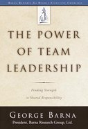 The Power of Team Leadership eBook