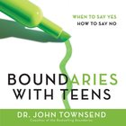 Boundaries With Teens eAudio