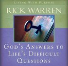 God's Answers to Life's Difficult Questions eAudio