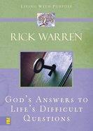 God's Answers to Life's Difficult Questions eBook