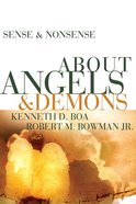 About Angels & Demons (Sense & Nonsense Series) eBook