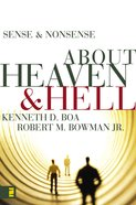 About Heaven & Hell (Sense & Nonsense Series) eBook