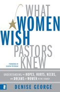 What Women Wish Pastors Knew eBook