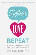 Listen, Love, Repeat eBook