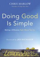 Doing Good is Simple eBook