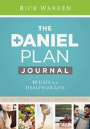 Daniel Plan Journal eBook