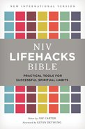 NIV Lifehacks Bible Ebook eBook