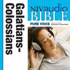 NIV, Audio Bible, Pure Voice: Galatians, Ephesians, Philippians, and Colossians, Audio eAudio