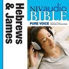 NIV, Audio Bible, Pure Voice,: Hebrews And James, Audio