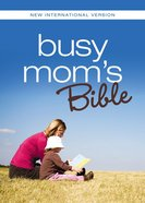 NIV Busy Mom's Bible Pink Hot Pink Duo-Tone eBook