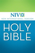 NIV Thinline Bible White