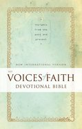 NIV Voices of Faith Devotional Bible eBook