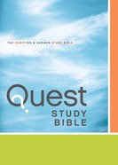 NIV Quest Personal Size Study Bible Blue/Blue Indexed eBook