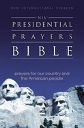 NIV Presidential Prayers Bible (1984) eBook