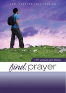 Find Prayer: NIV Verselight Bible eBook
