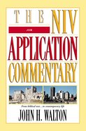 Job (Niv Application Commentary Series) eBook