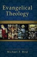 Evangelical Theology eBook