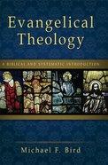 Evangelical Theology eBook