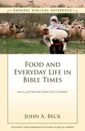 Food and Everyday Life in Bible Times eBook