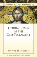 Finding Jesus in the Old Testament eBook