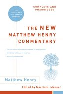 The New Matthew Henry Commentary eBook