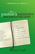 The Pastor's Ministry eBook