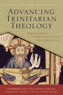 Advancing Trinitarian Theology eBook