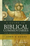 A Guide to Biblical Commentaries and Reference Works eBook