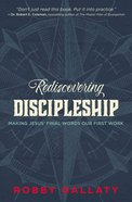 Rediscovering Discipleship eBook