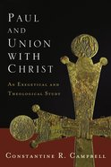 Paul and Union With Christ eBook