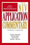 Pentateuch (#1 in Niv Application Commentary Series) eBook