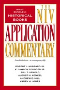 Historical Books (#2 in Niv Application Commentary Series) eBook