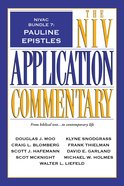 Pauline Epistles (#7 in Niv Application Commentary Series) eBook