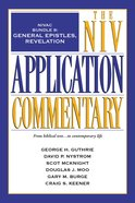 General Epistles, Revelation (#8 in Niv Application Commentary Series) eBook