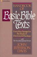 Handbook of Basic Bible Texts eBook