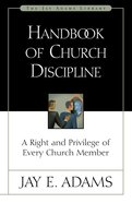 Handbook of Church Discipline eBook