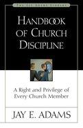 Handbook of Church Discipline eBook