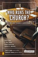 Who Runs the Church? (Counterpoints Series)