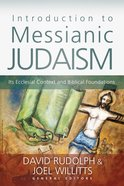 Introduction to Messianic Judaism eBook