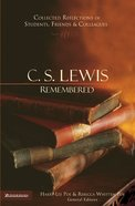 C.S. Lewis Remembered eBook