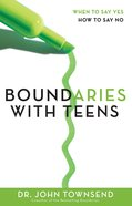 Boundaries With Teens eBook