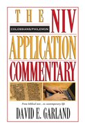 Colossians/Philemon (Niv Application Commentary Series) eBook