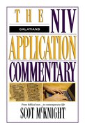 Galatians (Niv Application Commentary Series) eBook