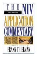 Philippians (Niv Application Commentary Series) eBook