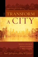 To Transform a City eAudio